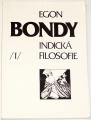 Bondy Egon - Indická filosofie 1