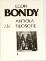 Bondy Egon - Indická filosofie 3