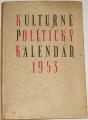 Kulturně politický kalendář 1953