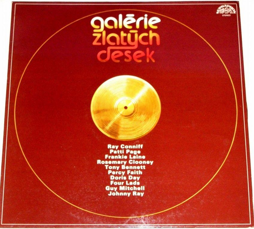 LP Galérie zlatých desek (Conniff, Page, Clooney...)
