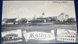Malín - celkový pohled 1924