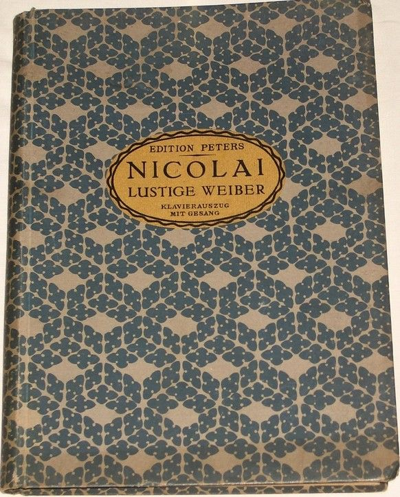 Nicolai Otto - Die lustigen Weiber von Windsor