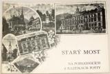 Starý Most na pohlednicích a razítkách pošty
