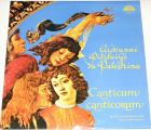2 LP Giovanni Pierluigi da Palestrina - Canticum Canticorum