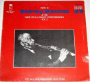 LP Here is Sidney Bechet At His Rare of All Performances Vol. 2
