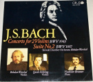 LP J. S. Bach - Concerto for 2 Violins, Suite No. 2