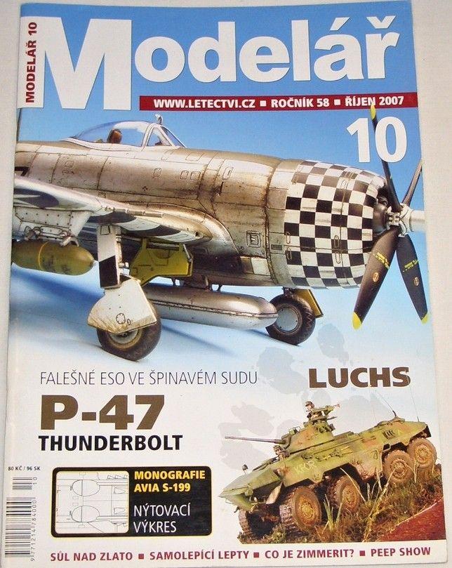 Modelář 10/2007 - ročník 58