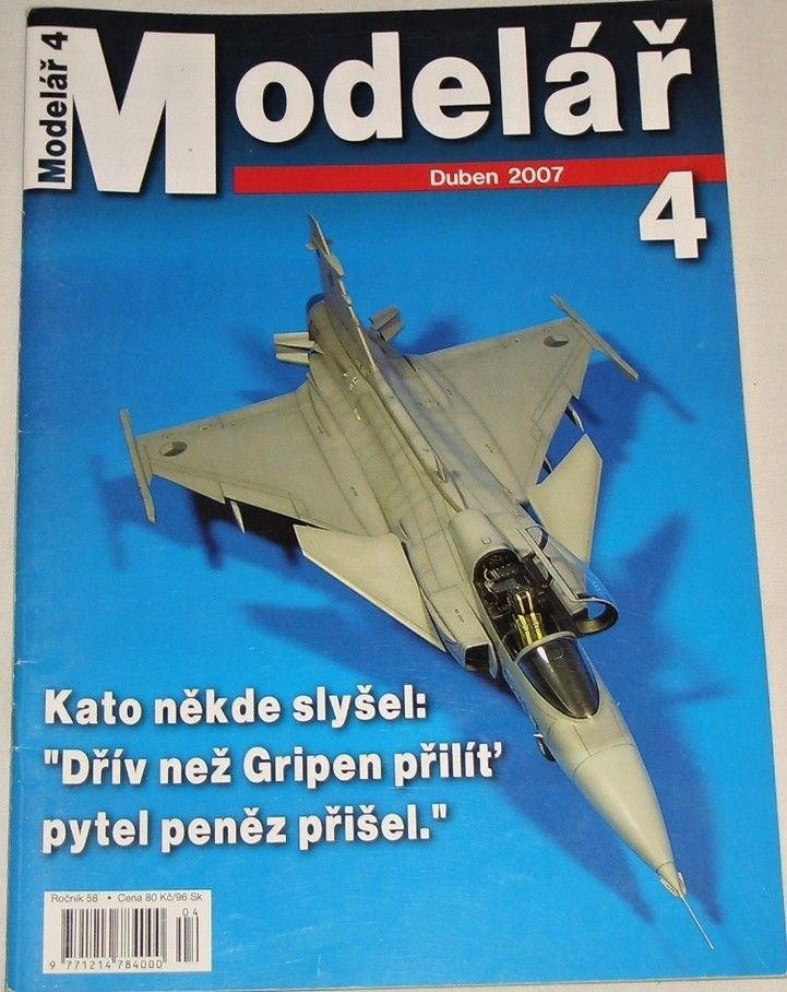 Modelář 4/2007 - ročník 58