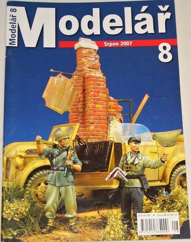 Modelář 8/2007 - ročník 58