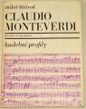 Štědroň Miloš - Claudio Monteverdi