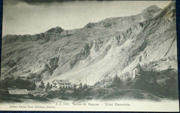 Alpy - Vallée de Bagnes - hotel Mauvoisin