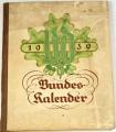 Bundes Kalender 1939