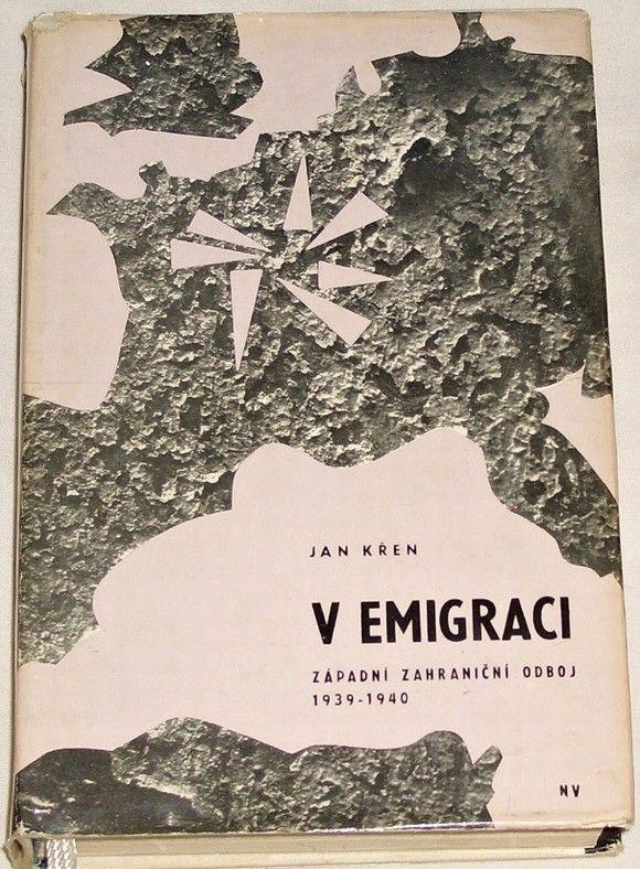 Křen Jan - V emigraci (Západní zahraniční odboj 1939 - 1940)