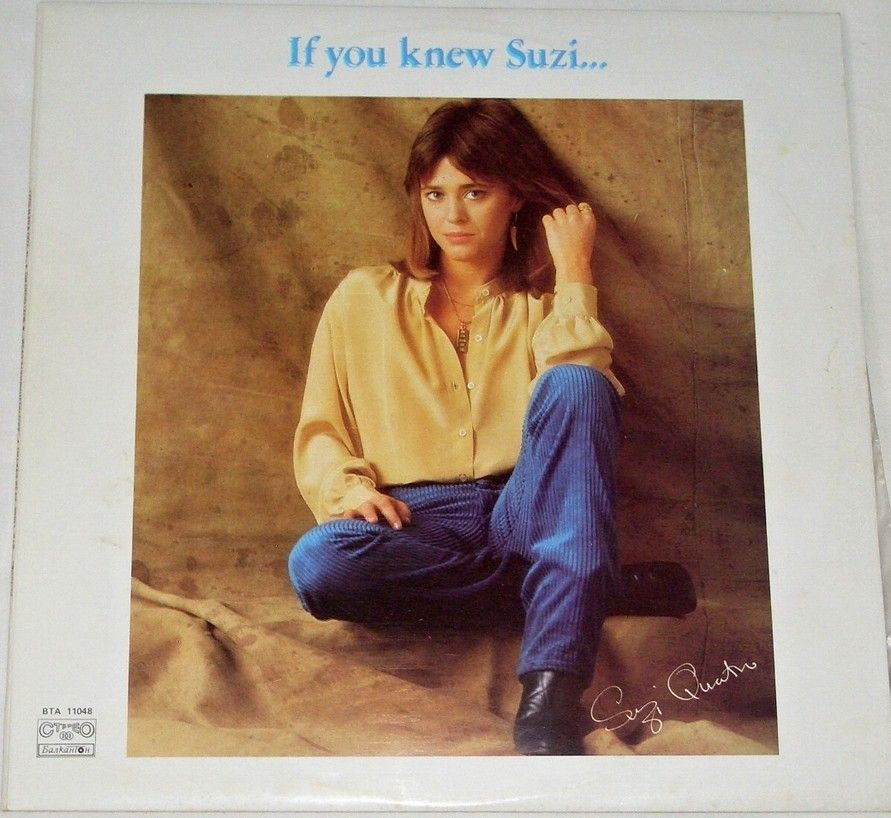 LP Suzi Quatro - If you knew Suzi...