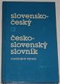 Slovensko-český a česko-slovenský slovník rozdílných výrazů