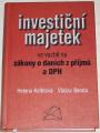 Kelblová, Benda - Investiční majetek ve vazbě na zákony o daních z příjmů a DPH