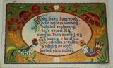 Velikonoce,  motiv lidového umění z Chodska