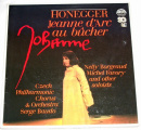 2 LP  Arthur Honegger - Jeanne D'Arc Au Bucher