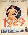 Humoristické listy ročník 72, (1929)