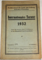 Internationales Turnier 1932