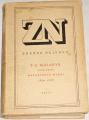 Nejedlý Zdeněk - T. G. Masaryk, kniha první: Masarykovo mládí 1850-1876