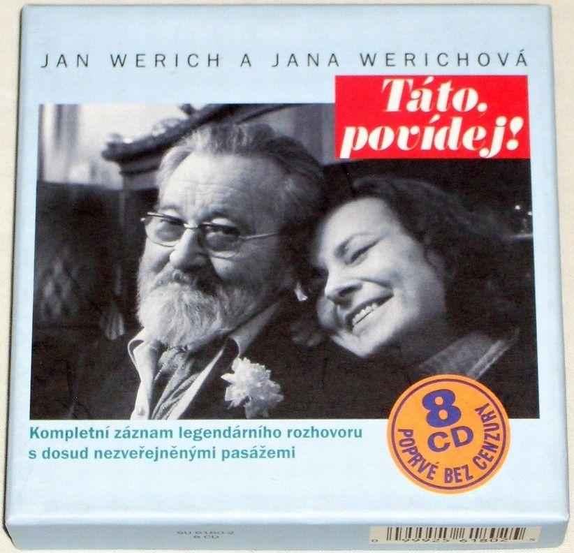 8 CD - Jan Werich a Jana Werichová: Táto povídej!