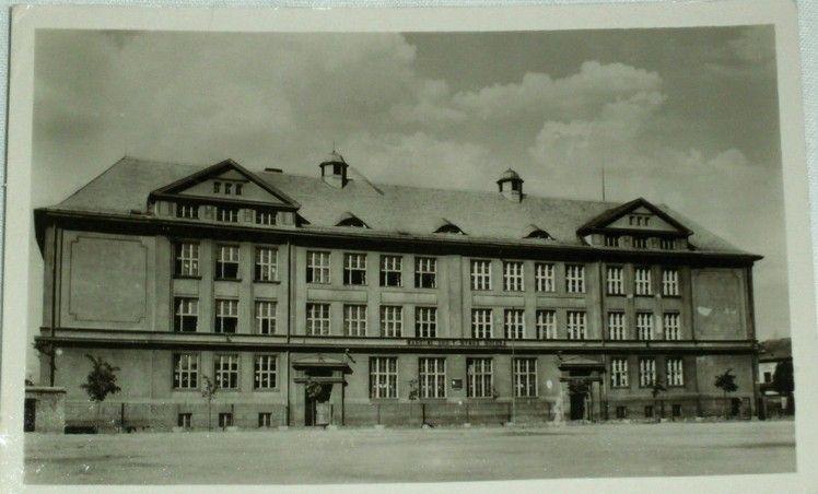 Duchcov vyšší průmyslová hornická škola 1956