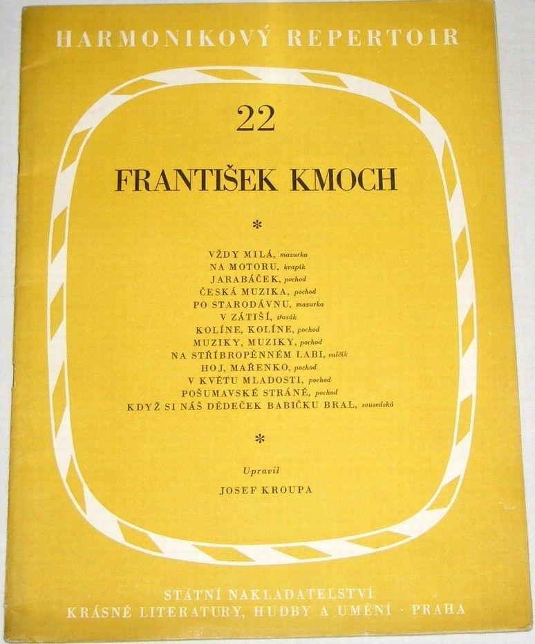 Kmoch František - Harmonikový repertoir 22