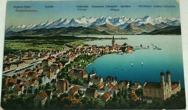 Německo Friedrichshafen, Bodamské jezero