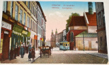 Polsko:  Kraków ul. Grodzka (Krakau, Grodgasse) 1917