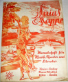 Sirius Mappe: Monatshefte für Musik, Theater und Literatur, Heft 2, VI. Jahrgang