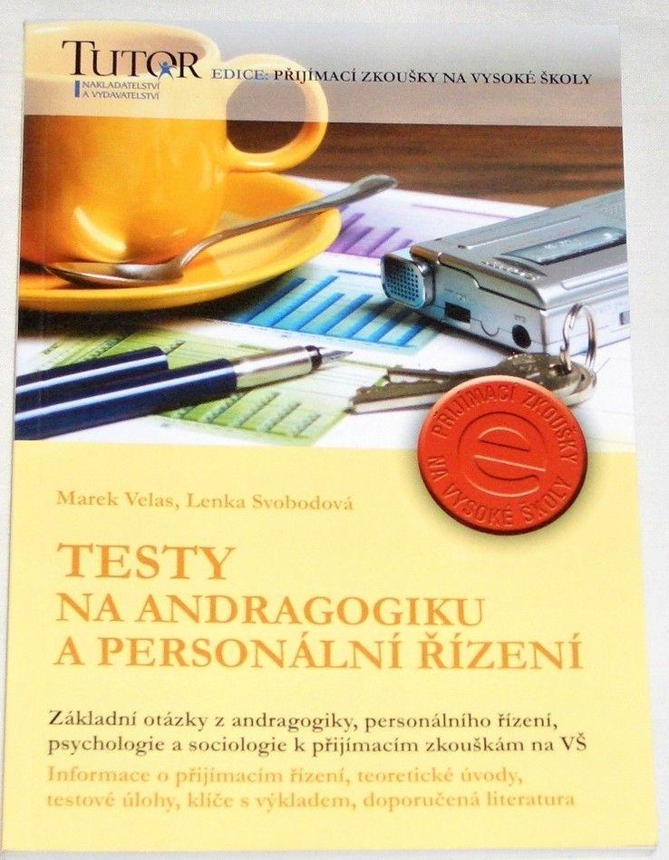 Velas Marek, Svobodová Lenka - Testy na andragogiku a personální řízení