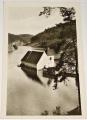 zatopený Starý Bítov nad Vranovskou přehradou