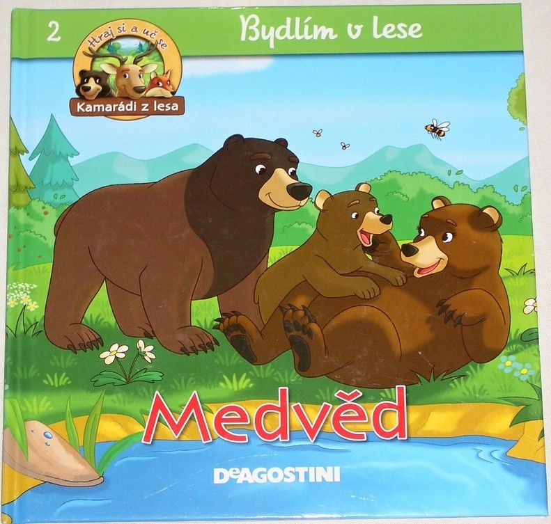 Bydlím v lese: Medvěd