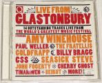 CD Live from Glastonbury (Amy Winehouse, Paul Weller, Goldfrapp...)