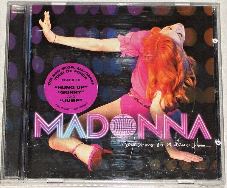 CD Madonna: Confessions On A Dance floor