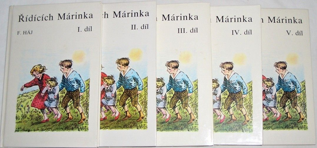 Háj F. - Řídících Márinka I. - V. díl