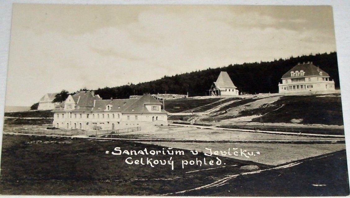 Jevíčko sanatorium: celkový pohled
