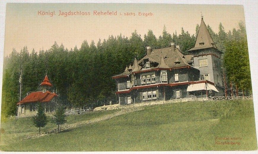 Německo: Krušné hory Jagdschloss Rehefeld