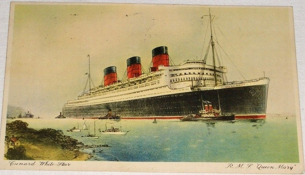 Parník R.M.S. Queen Mary (1937)