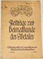 Beiträge zur Heimatkunde des Elbetals 3. Jahrs, 1. Heft, 1941
