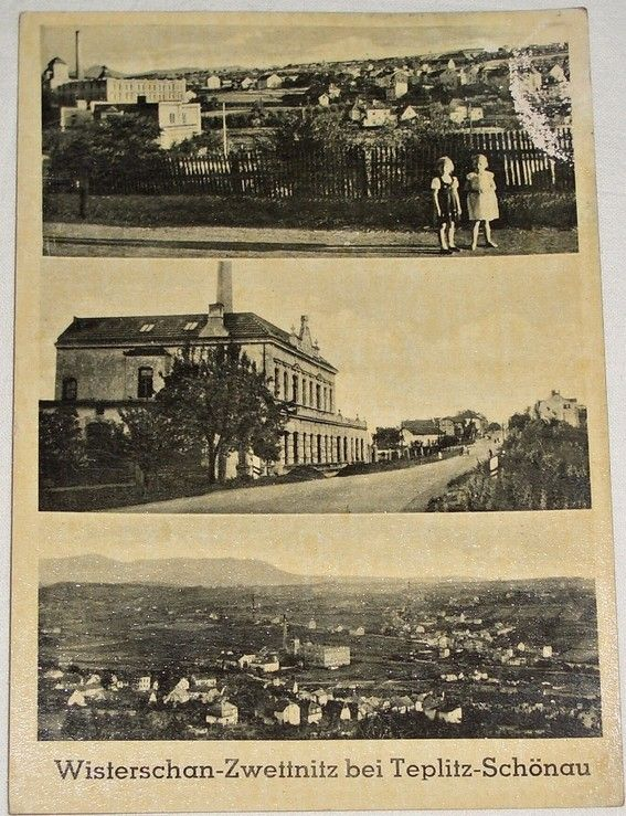 Bystřany Světice (Wisterschan Zwettnitz bei Teplitz)