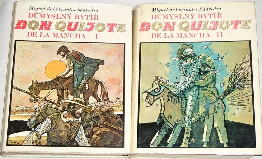 Cervantes Miguel de - Důmyslný rytíř don Quijote I. a II. díl