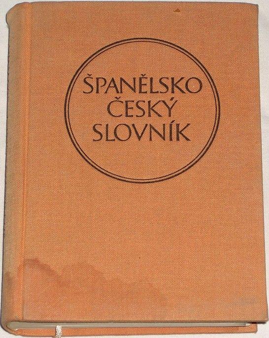 Dubský Josef - Španělsko-český slovník