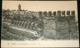 Maroko:  Taza, městské hradby kolem r. 1910