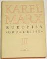 """Marx Karel - Rukopisy """"Grundrisse"""" III"""