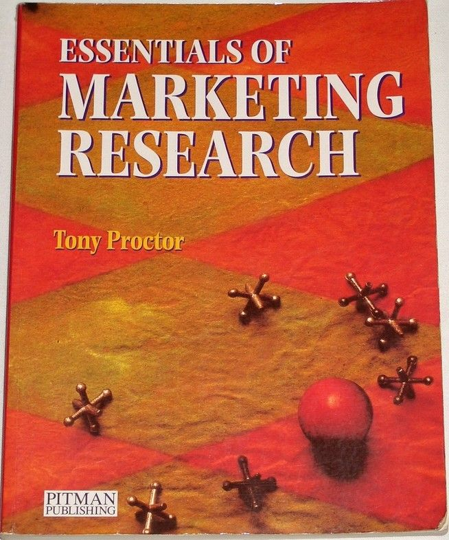 Proctor Tony - Essentials of Marketing Research