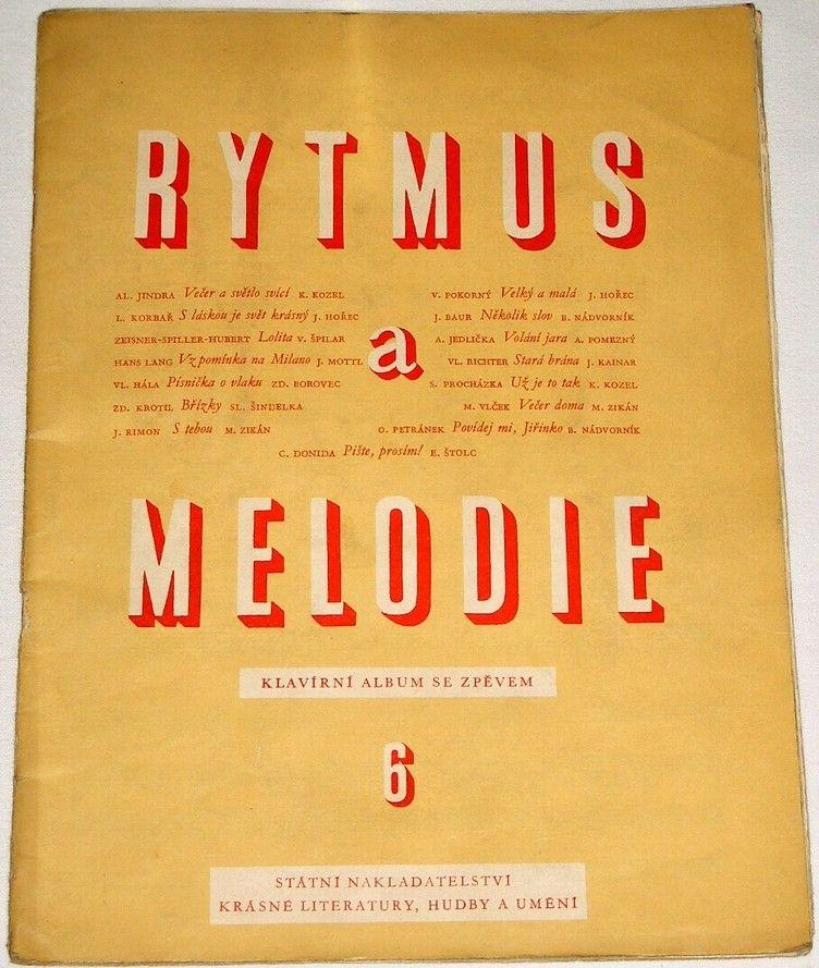 Rytmus a melodie 6 - Klavírní album se zpěvem