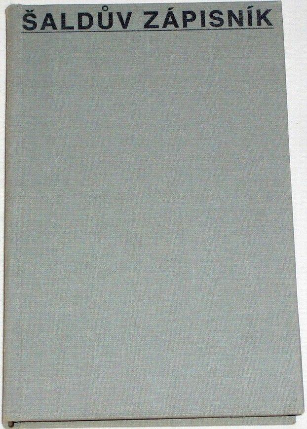 Šaldův zápisník I. (1928-1929)