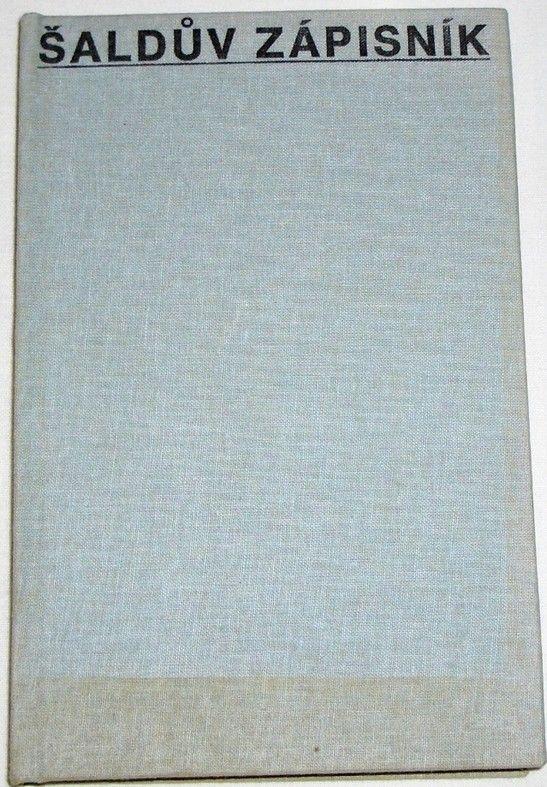 Šaldův zápisník VI. (1933-1934)